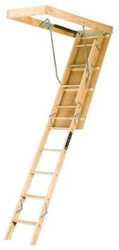 Wooden Attic Ladder