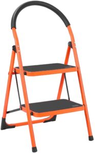 Luisladders Anti-Slip Folding 2-Step Ladder