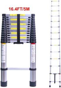 Terokota 16.4 Feet Telescoping Extension Ladder