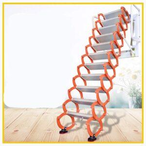 Z6 Aluminum Alloy Household Retractable Ladder