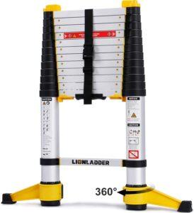 Lionladder EN131-6 Telescoping Ladder 12.5 Feet