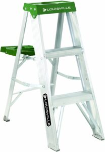 Louisville 3-Foot Step Ladder made with Aluminum