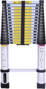 Luisladders 15.5 Feet Telescoping Extension Ladder