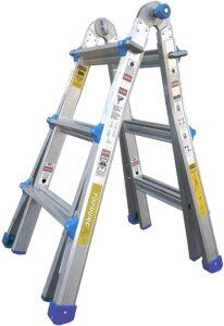 TOPRUNG 13 feet extension ladder