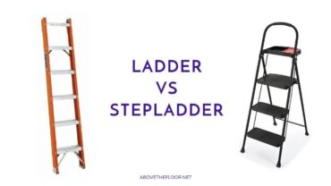 Ladder Vs. Stepladder: Which One is Better?