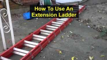 How to Use an Extension Ladder Safely?