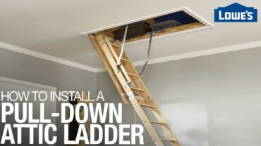 How to Install Attic Ladder Properly?