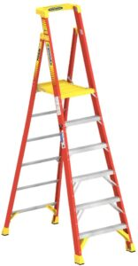 WERNER CO PD6206 Type IA Aluminum Podium Ladder