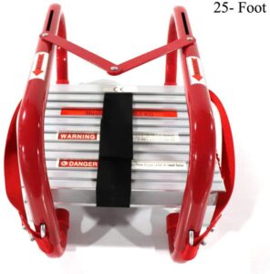Sharewin Portable Fire Ladder 3 Story Emergency Escape Ladder
