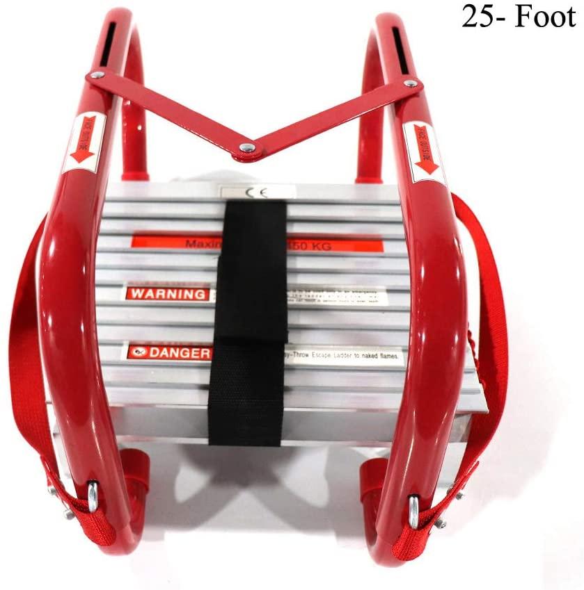 Sharewin Portable Fire Ladder 3 Story Emergency Escape Ladder