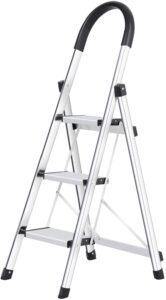Xaestival 3-Step Lionladder with Foldable and Portable Design