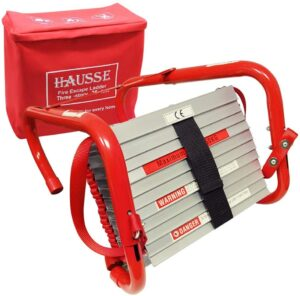 Hausse Retractable 3 Story Fire Escape Ladder