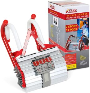 Kidde 468193 KL-2S Two-Story Fire Escape Ladder