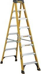 DeWalt 8-Foot Fiberglass Step Ladder