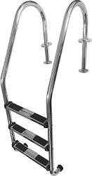 FibroPRO Stainless Steel In-Ground Swimming Pool Ladder